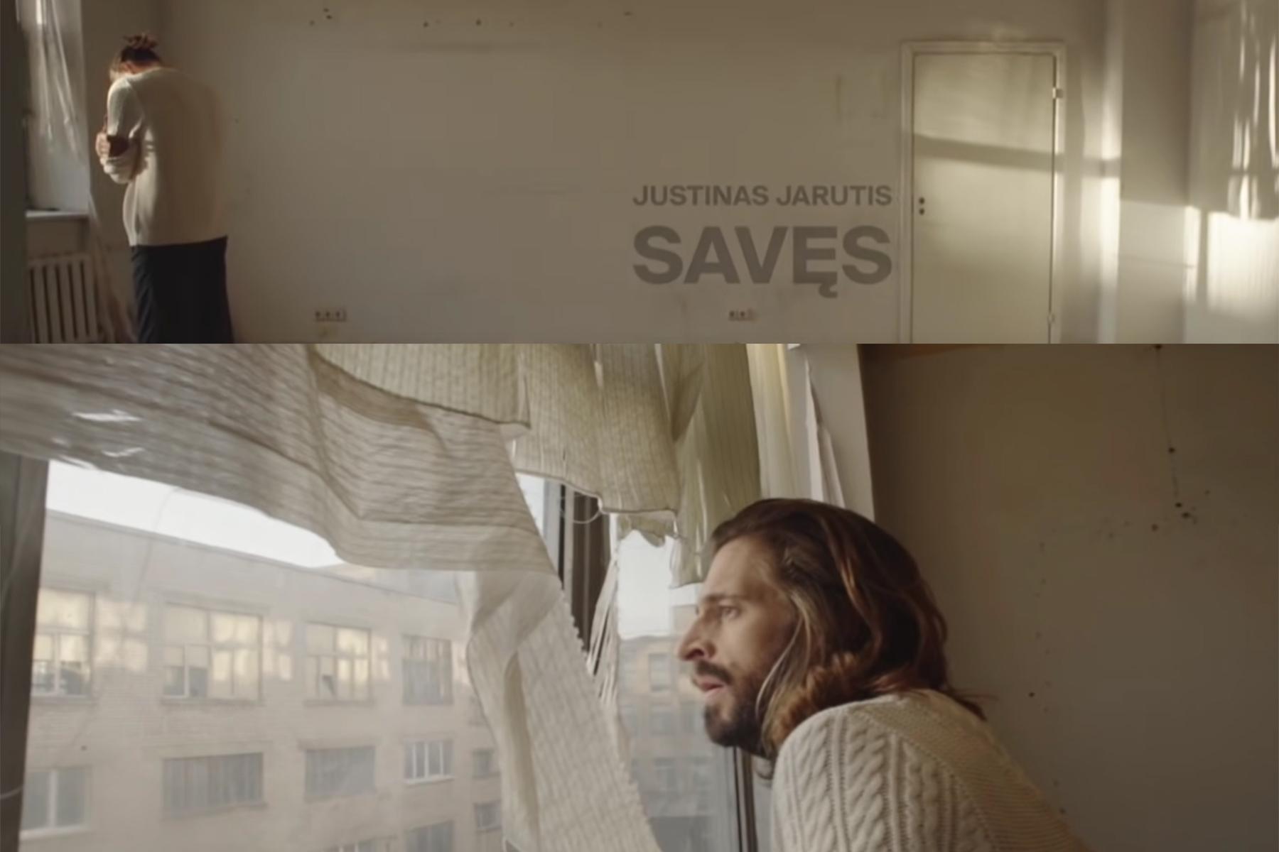 """Justino Jaručio dainos """"Savęs"""" klipo filmavimas"""